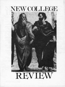 cover of New College Review 1983 issue